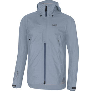 GORE WEAR H5 Gore-Tex Active Hooded Jacket Herren deep water blue/cloudy blue deep water blue/cloudy blue