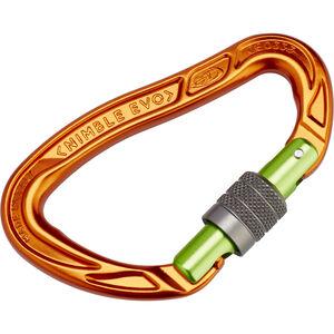 Climbing Technology Nimble Evo SG Carabiner orange/green orange/green