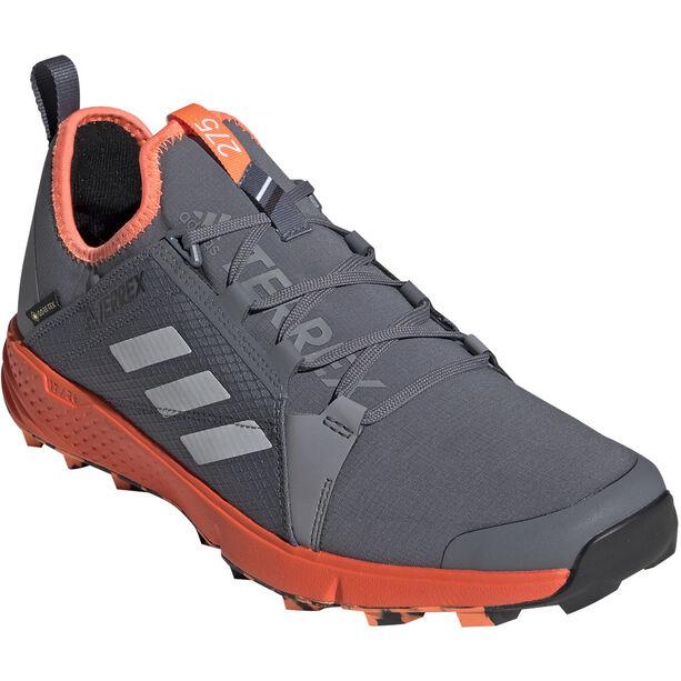 adidas TERREX Agravic Speed GTX Schuhe Herren onix/grey two/solar orange