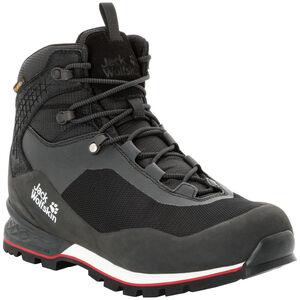 Jack Wolfskin Wilderness Lite Texapore Mid-Cut Schuhe Herren black/red black/red