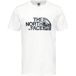 The North Face Wodcut Dome Kurzarm T-Shirt Herren white/black white/black