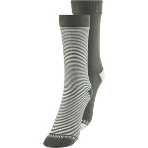Craghoppers NosiLife Socks Twin Pack Herren charcoal/soft grey marl charcoal/soft grey marl