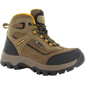 Hi-Tec Hillside WP Shoes Kinder smokey brown/gold smokey brown/gold