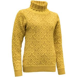 Devold Svalbard High Neck Sweater Herren cyber/arrowwood cyber/arrowwood
