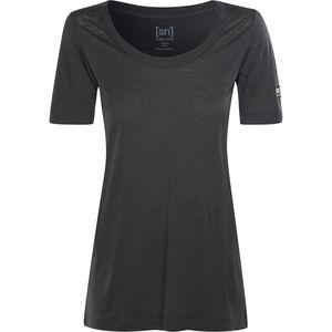 super.natural Oversize T-Shirt Damen jet black jet black