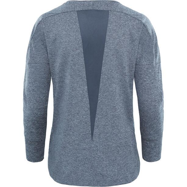 The North Face Inlux 3/4 Sleeve Top Damen vanadis grey heather