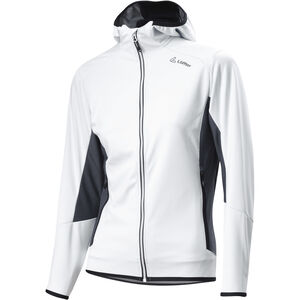 Löffler Windstopper Light Kapuzenjacke Damen white white