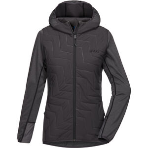 PYUA Blaze Hooded Jacket Damen grey mel-almost black grey mel-almost black