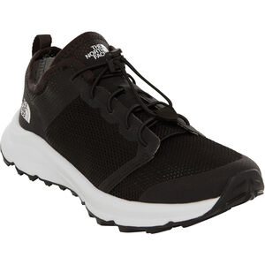 The North Face Litewave Flow Lace II Shoes Damen tnf black/tnf white tnf black/tnf white