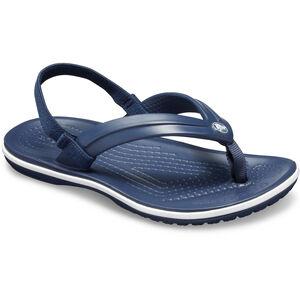 Crocs Crocband Strap Flip Sandals Kinder navy navy
