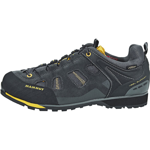 Mammut Alnasca Low GTX Shoes Herren graphite-yellowstone