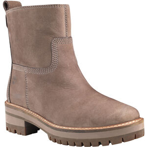 Timberland Courmayeur Valley Faux Fur Stiefel Damen taupe gray taupe gray