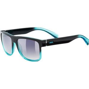 UVEX LGL 21 Glasses black turquoise/ltm.smoke black turquoise/ltm.smoke