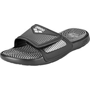 arena Marco VCR Hook Sandals black-grey-silver black-grey-silver