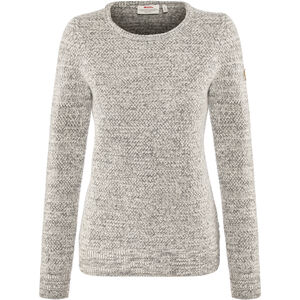 Fjällräven Övik Structure Sweater Damen egg shell-grey egg shell-grey