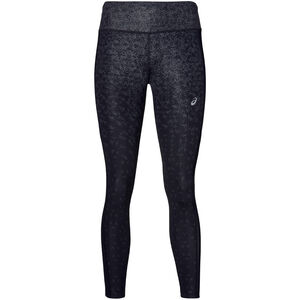 asics Crop Tights Print Damen hexagon print fade performance black hexagon print fade performance black