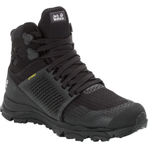 Jack Wolfskin Trail Invader Shield Mid-Cut Schuhe Damen black/black black/black