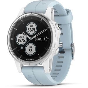 Garmin fenix 5S Plus Smartwatch white/seafoam white/seafoam