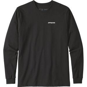 Patagonia P-6 Logo LS Responsibili-Tee Herren black