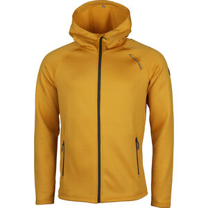 North Bend Vector Kapuzen-Fleecejacke Herren yellow dijon yellow dijon