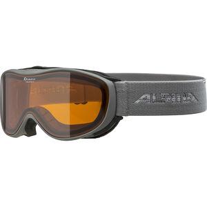 Alpina Challenge 2.0 Doubleflex S2 Goggles grey/orange grey/orange