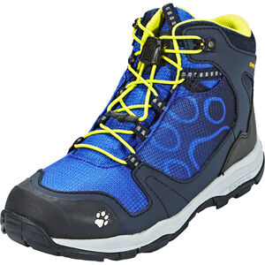 Jack Wolfskin Akka Texapore Mid Shoes Jungs vibrant blue vibrant blue