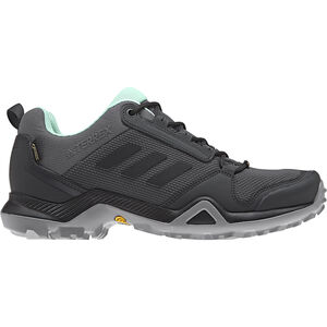 adidas TERREX AX3 GTX Shoes Damen grey five/core black/clemin grey five/core black/clemin