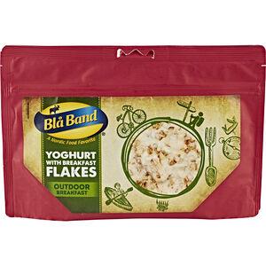 Bla Band Outdoor Frühstück Joghurt mit Müsli