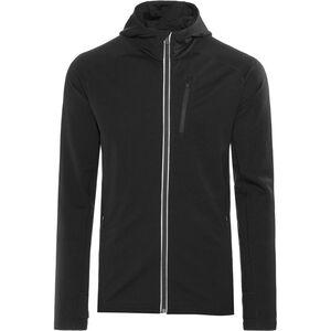 Icebreaker Quantum LS Zip Hood Jacket Herren black black