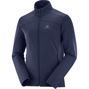 Salomon Discovery LT FZ Jacket Herren night sky night sky