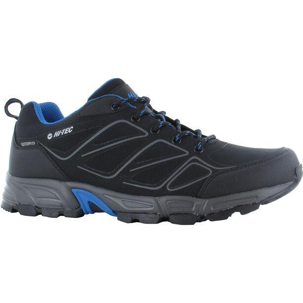 Hi-Tec Ripper WP Low-Cut Schuhe Herren black/lake blue