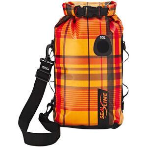 SealLine Discovery Dry Bag 10l orange plaid orange plaid