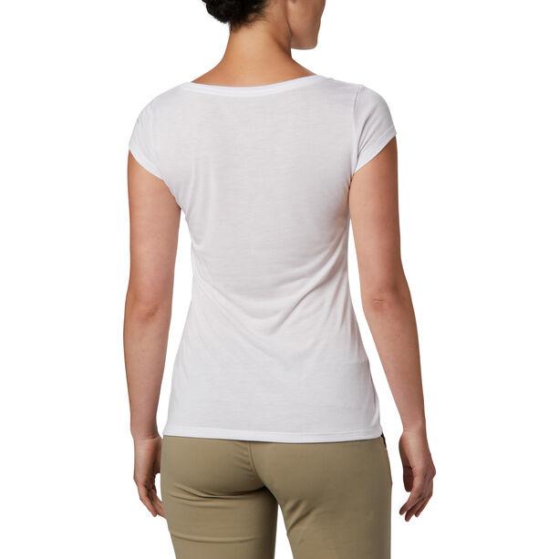 Columbia Shady Grove Kurzarm T-Shirt Damen white/fun performance