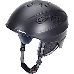 Alpina Grap 2.0 Ski Helmet black matt black matt