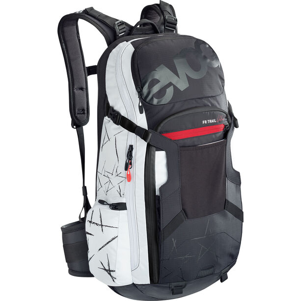 EVOC FR Trail Unlimited Protector Backpack 20l Damen black/white