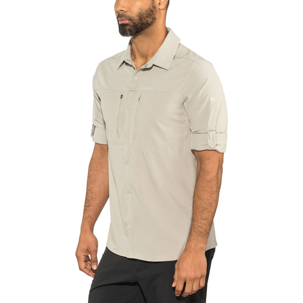 Craghoppers NosiLife Pro III Longsleeved Shirt Herren parchment