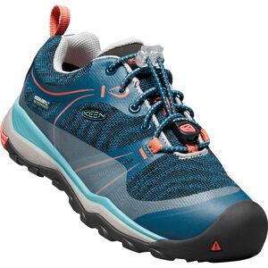 Keen Terradora WP Shoes Kinder aqua sea/coral aqua sea/coral