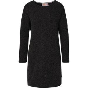 Varg Fårö Long Wool Dress Damen dark anthracite dark anthracite