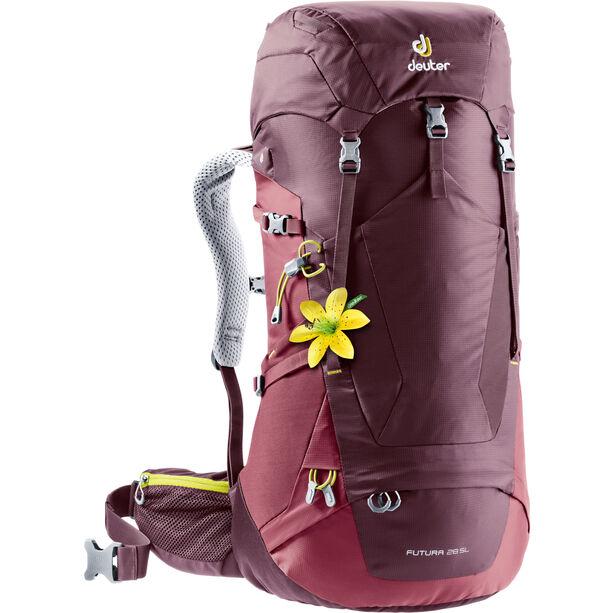 Deuter Futura 28 SL Backpack Damen aubergine/maron
