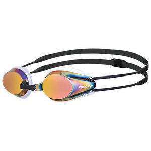 arena Tracks Mirror Goggles white-red revo-black