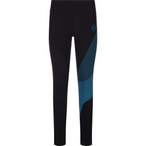 La Sportiva Supersonic Pants Women black/azure black/azure