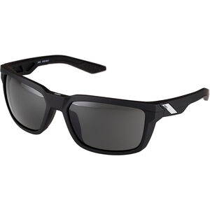 100% Daze Smoke Glasses soft tact black soft tact black