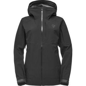 Black Diamond Recon Stretch Ski Shell Jacke Damen black black