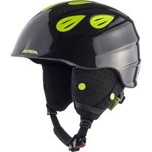Alpina Grap 2.0 Ski Helmet Kinder charcoal-neon yellow charcoal-neon yellow