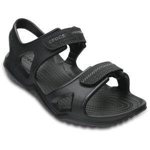 Crocs Swiftwater River Sandals Herren black/black black/black
