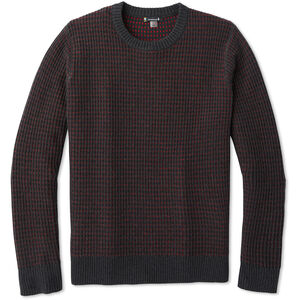 Smartwool Ripple Ridge Tick Stitch Rundhals-Sweater Herren charcoal heather charcoal heather