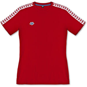 arena Team T-Shirt Herren red/white/red red/white/red