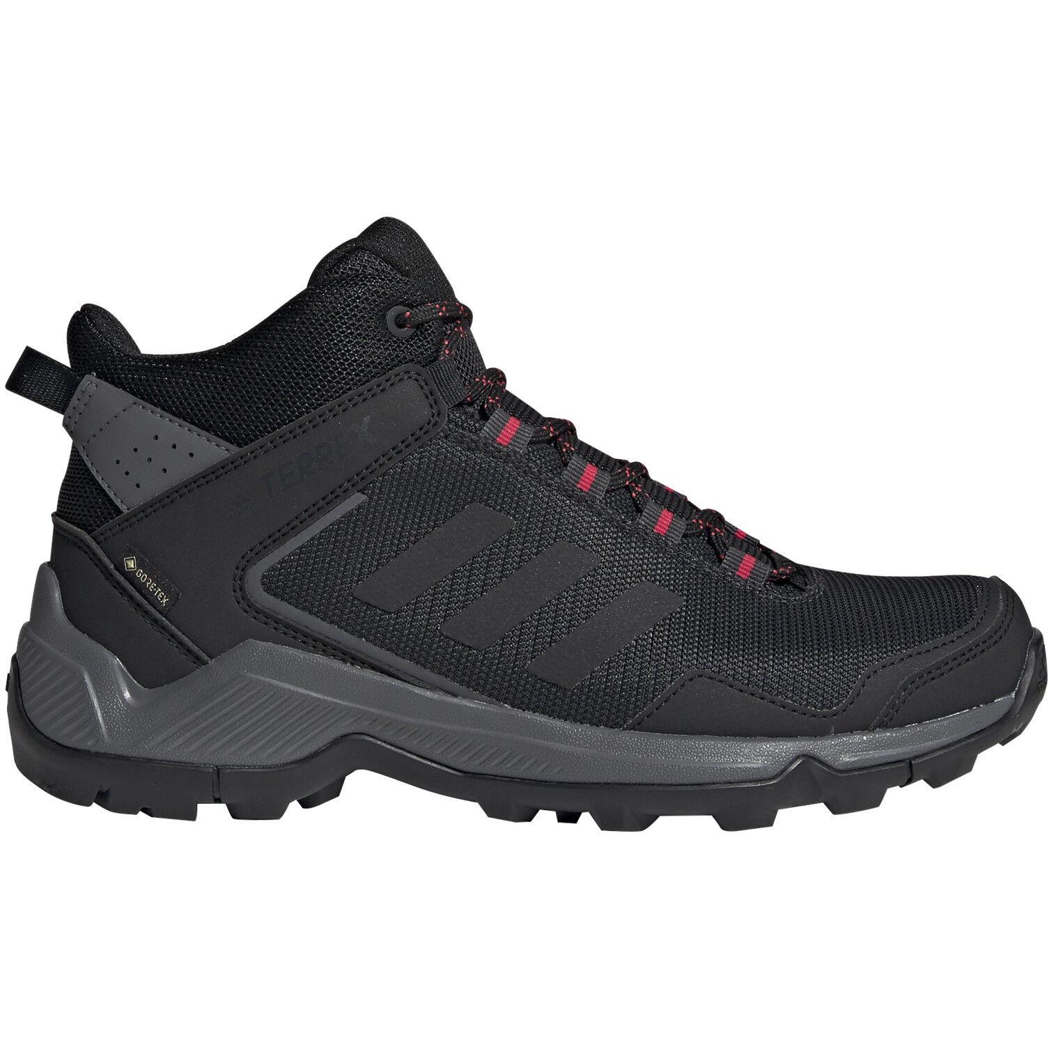 adidas TERREX Eastrail GTX Mid Cut Schuhe Damen carboncore blackactive pink
