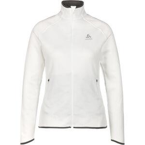 Odlo Carve Ceramiwarm Full-Zip Midlayer Damen white white