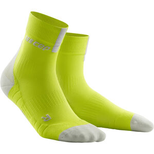 cep Short Socks 3.0 Herren lime/light grey lime/light grey
